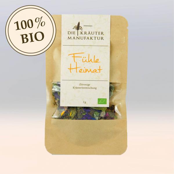 Teemischung - Fühle Heimat (bio), Probierpäckchen