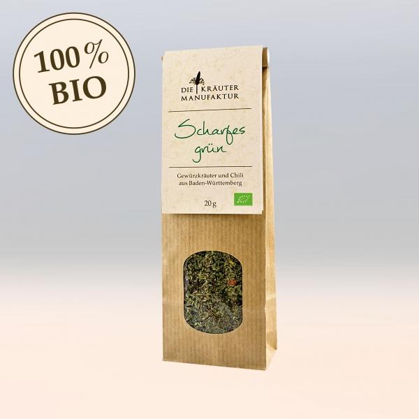 Kräutermischung Beutel bio scharfes grün 20g